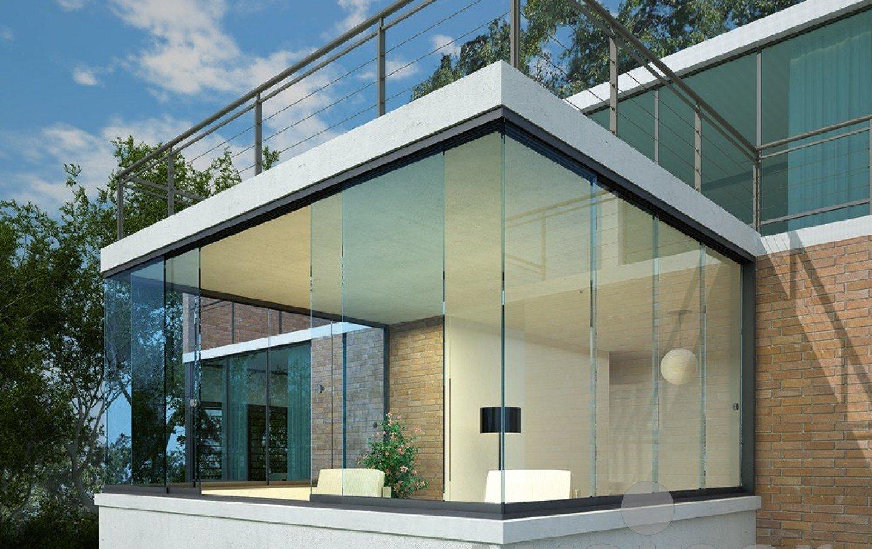 Balustrades - balkonbeglazing