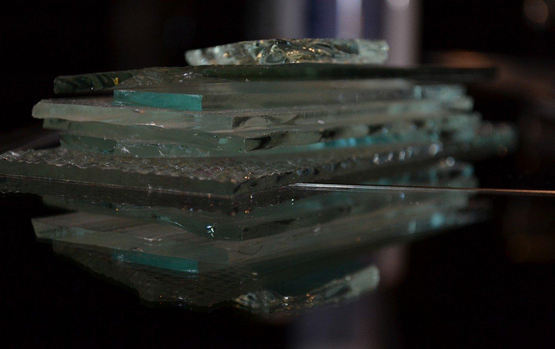 verschillende soorten enkel glas