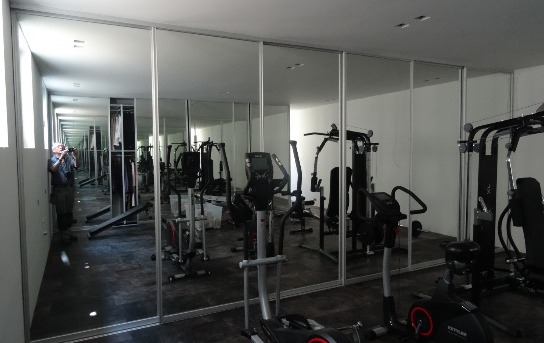 veiligheidsspiegels fitness centrum