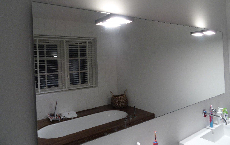 spiegel 6 mm dik polygeslepen badkamer