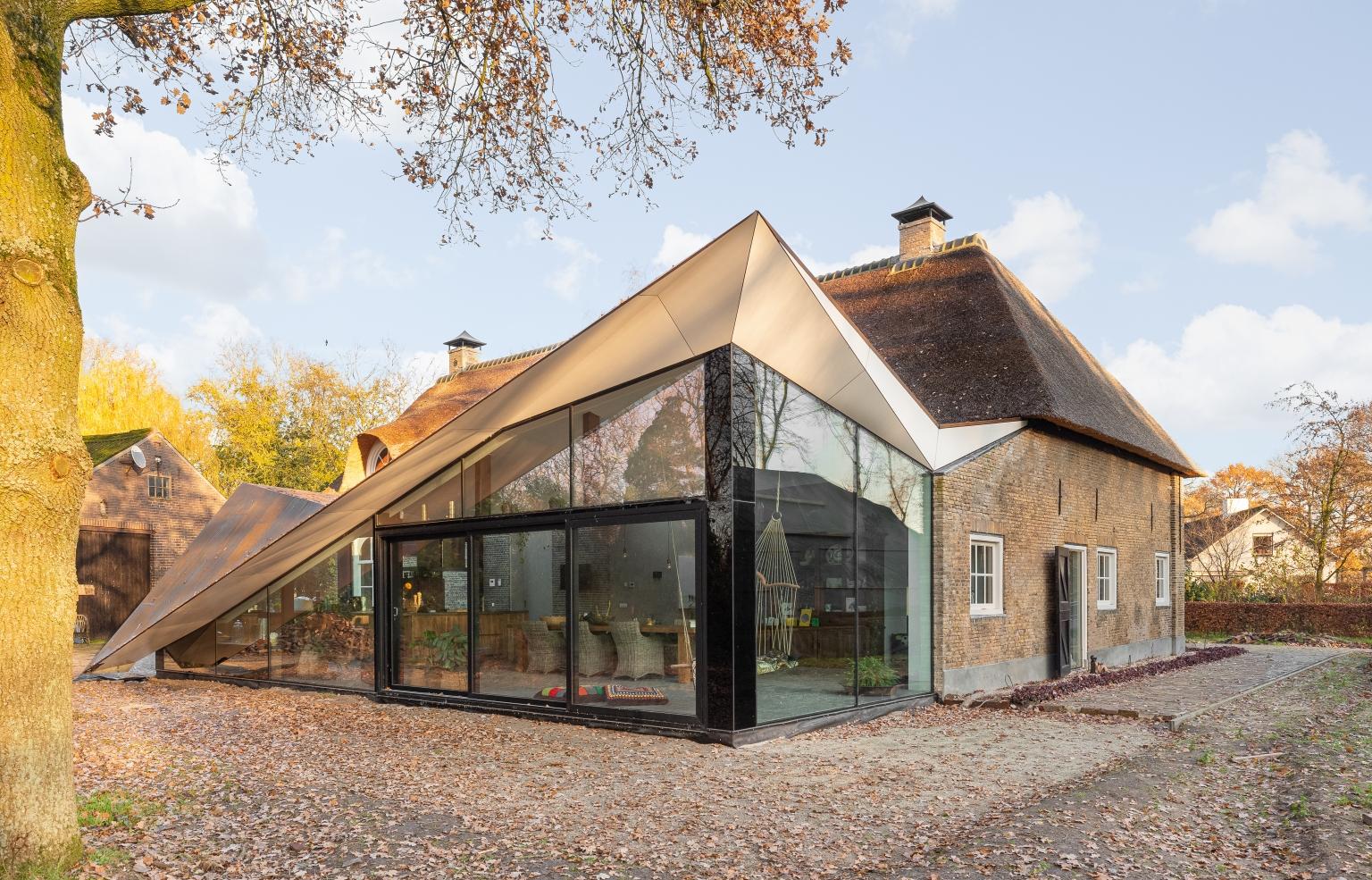 Renovatie boerderij - exterieur