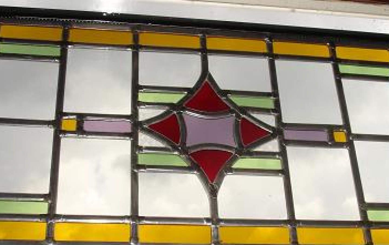 glas in lood paneel